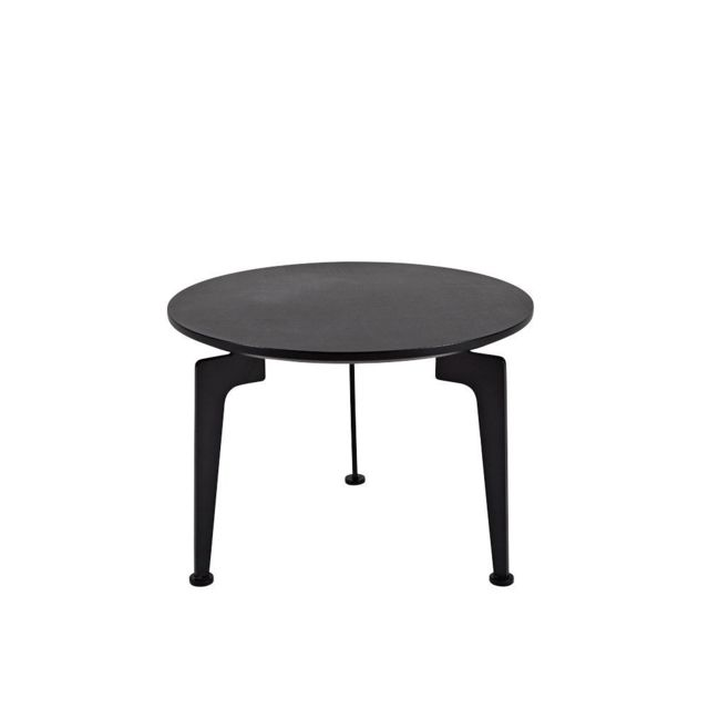 Inside 75 Table basse design scandinave Laser taille M noire