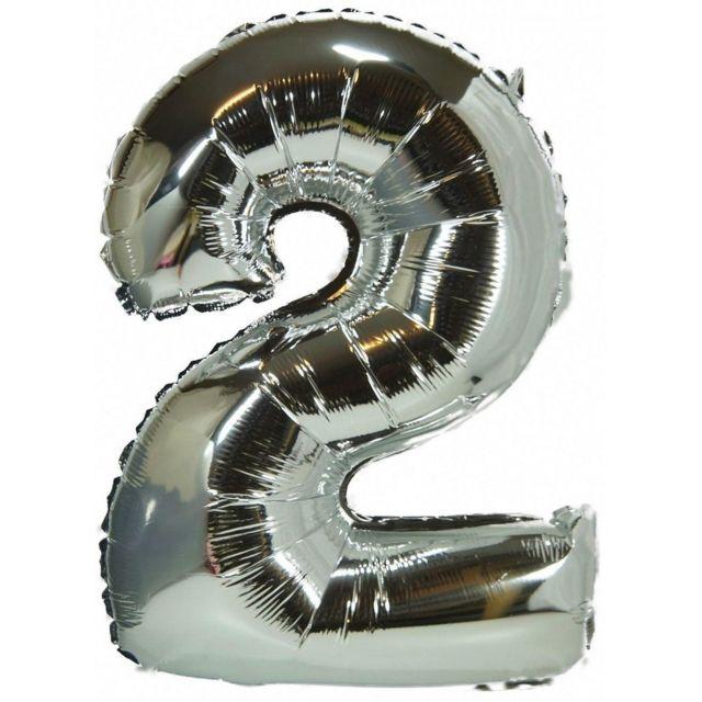 Ballon hélium géant 80 cm chiffre 7 or