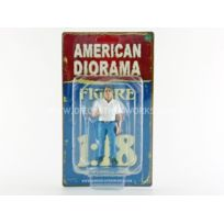 American Diorama - 1/18 - Figurines Mecanicien Tim - 77443