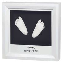 "Baby Art - Kit d'Empreinte ""My Little Steps"" - Cadre Empreintes 3D"