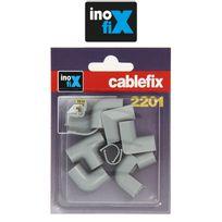 Inofix - Accessoires assortis pour Cablefix 2201 gris metallisé