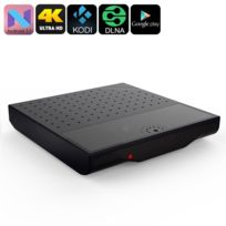 Yonis - Mini Pc Android Tv Box 7.1 Nougat portable 4K OctaCore Wifi 8Go Noir