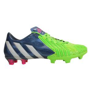 adidas Originals Predator Instinct FG Blanc-Vert-Bleu - Chaussures Football Homme
