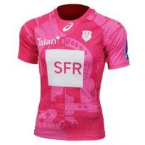 Asics - Maillot de rugby Stade français Maillot Stade Français domicile 15/16 Replica