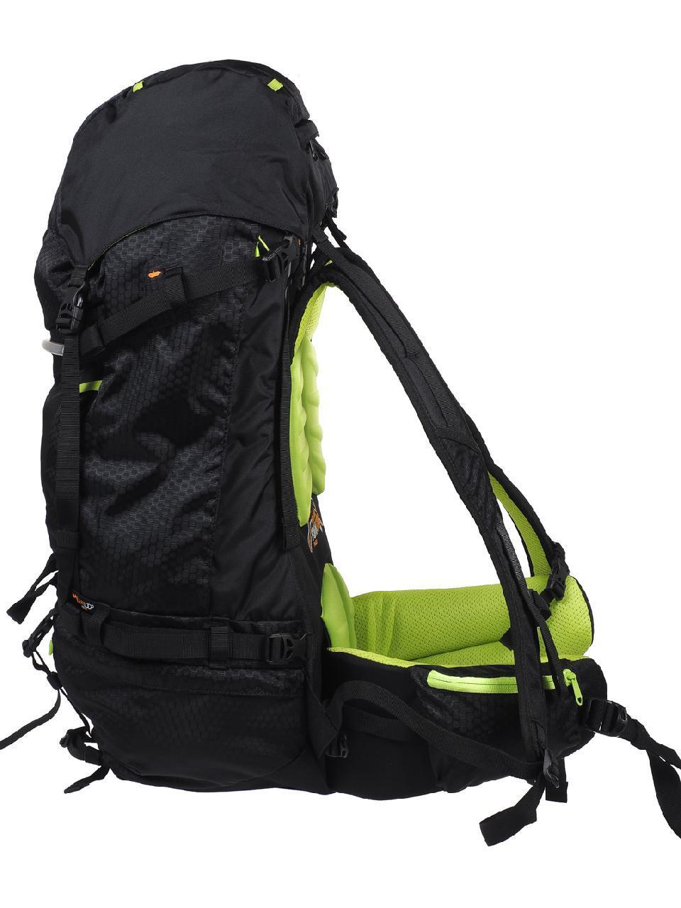 Sac à dos randonnée Ubic 50+10 noir 1.720 kg Noir 15340