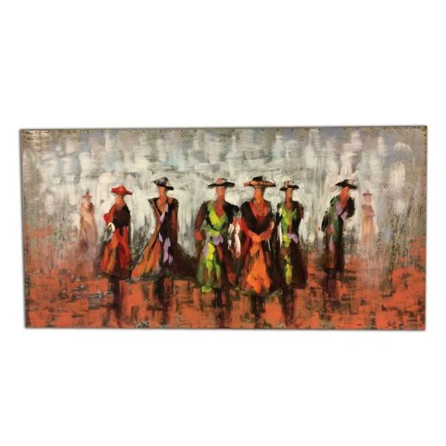 meubletmoi tableau m tallique relief 3d femmes robes pas cher achat vente tableaux. Black Bedroom Furniture Sets. Home Design Ideas