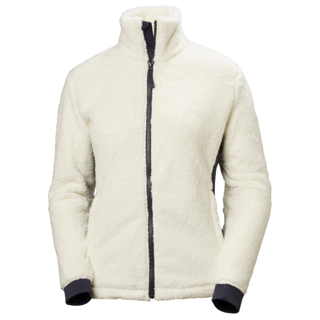 Veste Jacket Helly Femme Fleece Hansen Offwhite Polaire Precious W lcJTFK1