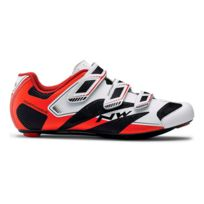 Northwave - Chaussures Sonic 2 Plus blanc noir rouge
