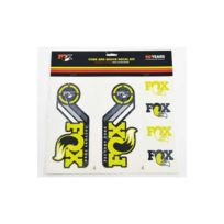 Fox Racing Shox - Fork and Shock Decal Kit - Dvd & Calendriers - jaune