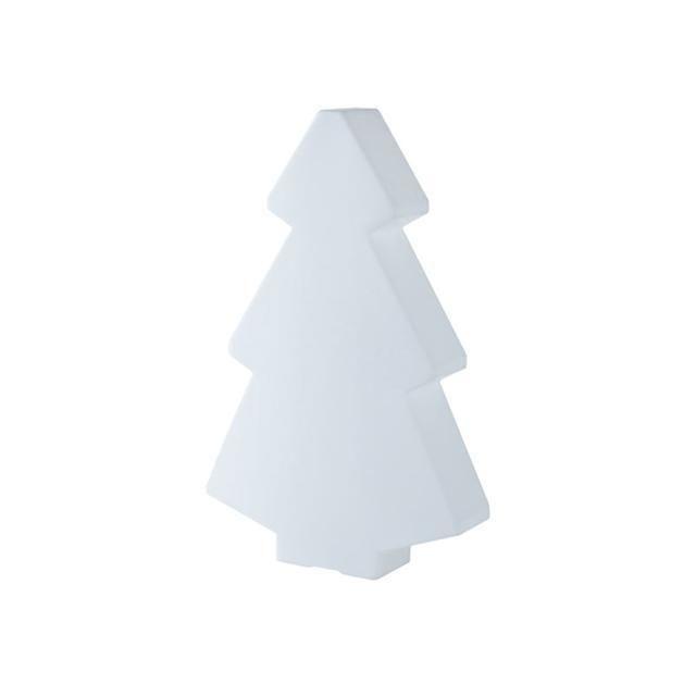 Slide - Lightree - Sapin lumineux d'extérieur Blanc H45cm - Luminaire d'extérieur designé par Loetizia Censi