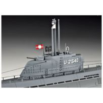 Revell - Maquette sous-marin : U-boot Type Xxi U 2540 & Interieur