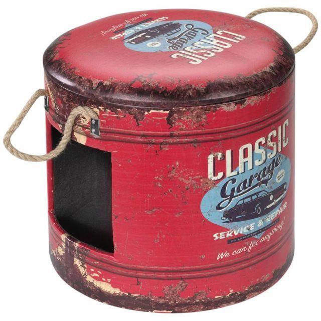 D&D Boîte d'animaux de compagnie Classic Garage Rouge 434/429389