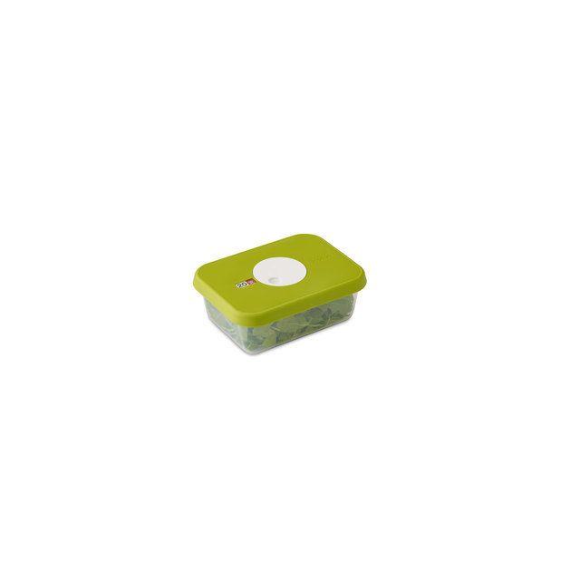 Joseph Joseph Boîte De Conservation Empilable Avec Cadran Dateur Dial - Rectangulaire 1 Litre 18.5 X 13.9 X H 7 Cm