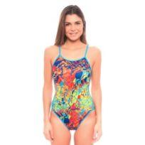 Turbo - Maillot de bain de natation Seasons bretelles fines femme