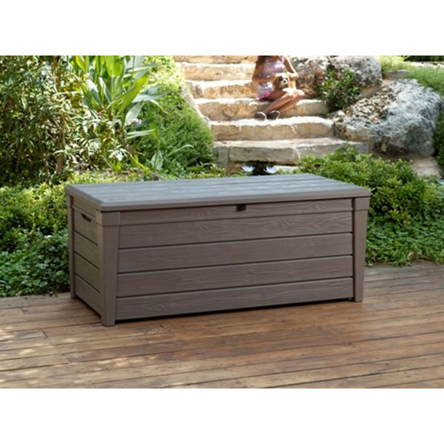 keter coffre de rangement santiago pas cher achat vente coffres rueducommerce. Black Bedroom Furniture Sets. Home Design Ideas