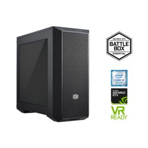 achat rue du commerce battlebox essential noir ordinateur de bureau intel core i5. Black Bedroom Furniture Sets. Home Design Ideas
