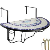 Table balcon pliante - catalogue 2019 - [RueDuCommerce - Carrefour]