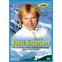 Eurovideo Bildprogramm Gmbh - Hansi Hinterseer, Teil 4-6 3 Dvds, IMPORT Allemand, IMPORT Coffret De 3 Dvd - Edition simple