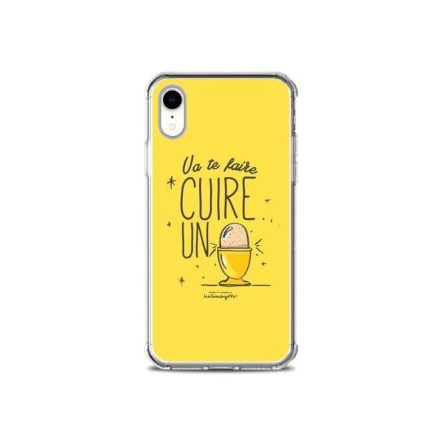 coque iphone xr va te faire cuir un oeuf jaune leellouebrigitte