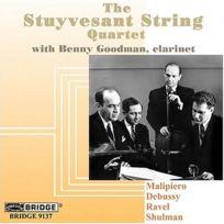 Bridge - Malipiero : Quatuor A Cordes N°1 - Debussy : Quatuor A Cordes N°1 Op. 10 - Ravel : Quatuor A Cordes - Cd