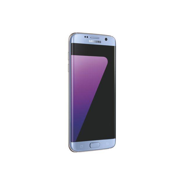 Samsung - Galaxy S7 Edge Bleu