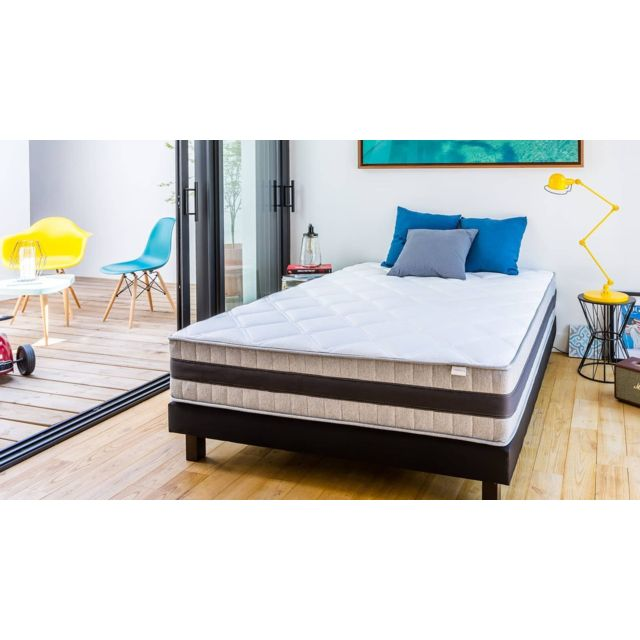 hbedding matelas m moire de forme 90x190 memo luxe. Black Bedroom Furniture Sets. Home Design Ideas