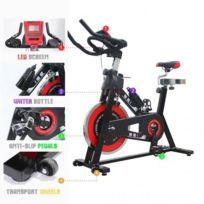 Ise - vélo de biking spin bike Intérieur aerobie spining Vélo d appartement vélo biking 7001 rouge