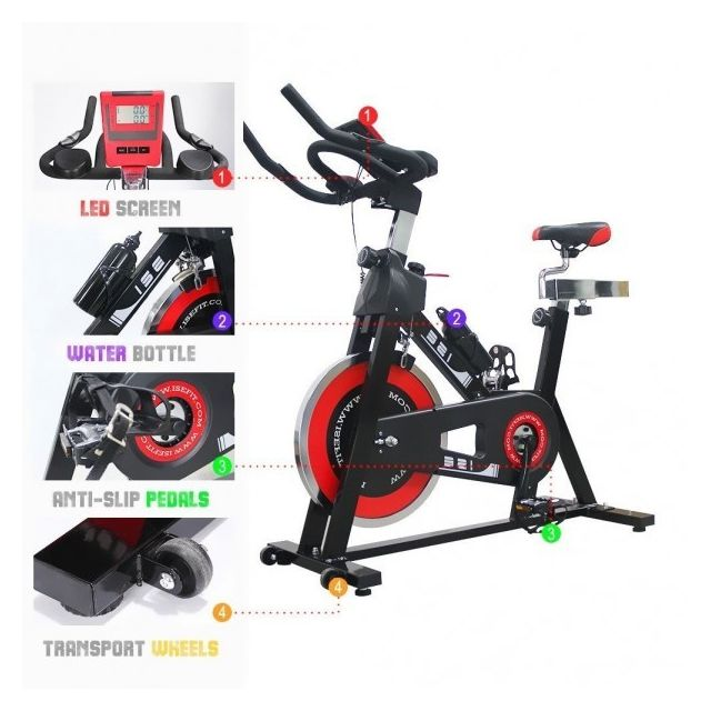 ise vlo de biking spin bike intrieur aerobie spining vlo d appartement vlo biking 7001