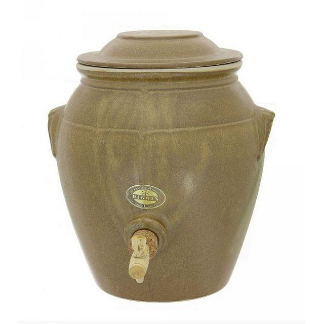 DIGOIN CERAMIQUE vinaigrier traditionnel en grès 4l grès mat - pvr05ma