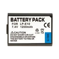 Oting - Lp-e10 – Batterie pour Canon Eos 1100D Type Lp-e10