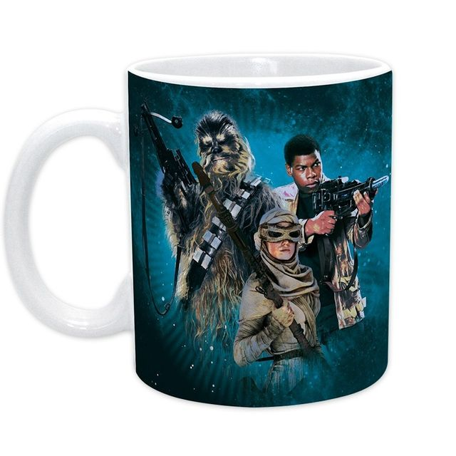 Stars Wars Star Wars Mug Rey Finn & Chewbacca 320 ml