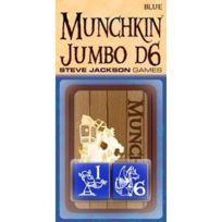 Munchkin - 332235 - Jeu De Cartes - Jumbo Dice - Bleu - D6