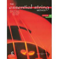Boosey & Hawkes - Méthodes Et Pédagogie Nelson Sheila M The Essential String Method For Violin Vol. 1 - Violin Violon