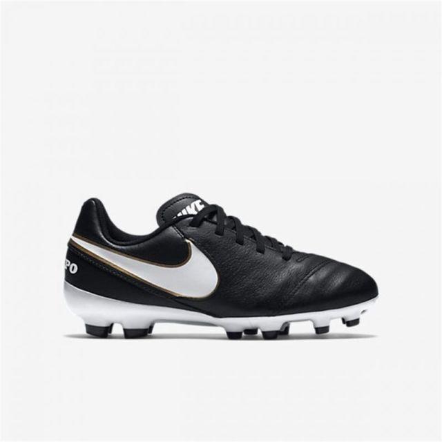 new style 2ccbc 4a4e4 Nike - Tiempo Legend Vi Fg Jr - pas cher Achat   Vente Chaussures foot -  RueDuCommerce