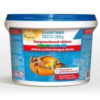 Bsi - Chlore Longue Action Tablettes de 200 g / Boîte 5 Kg