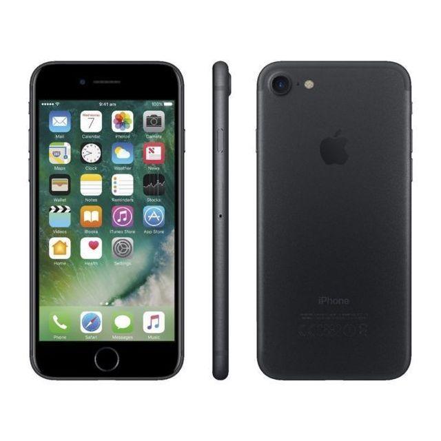 APPLE - iPhone 7 - 128 Go - Noir - Reconditionné