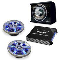 "ELECTRONIC STAR - Hifi Auto Set haut-parleur ampli ""BeatPilot FX-211"