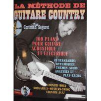 Id Music - Débutant guitare country +CD Rebillard
