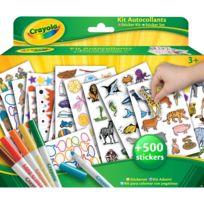 Crayola - Kit coloriage et autocollants