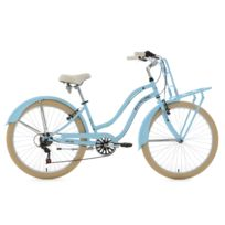 KS CYCLING - Beachcruiser Cargo 26'' Melba bleu ciel TC 41 cm