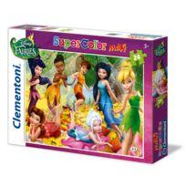 Clementoni - Puzzle 24 pièces maxi : Disney Fairies