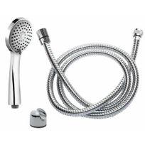 Disflex - Set de douche avec pommeau 3 jets - Indra