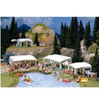 Faller - Modélisme Ho : Accessoires de décor : Kit de caravanes de camping