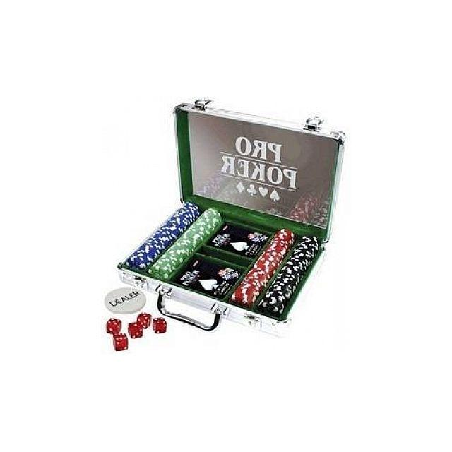 Malette poker avec valeur jetons