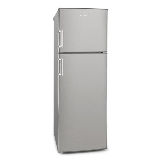 KLARSTEIN Height Cool Combiné Réfrigérateur congélateur 234/77 l 2 portes Inox