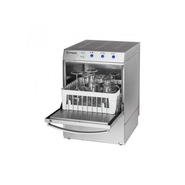 Materiel Chr Pro Lave verre professionnel avec pompe de vidange - Stalgast - 220V monophase