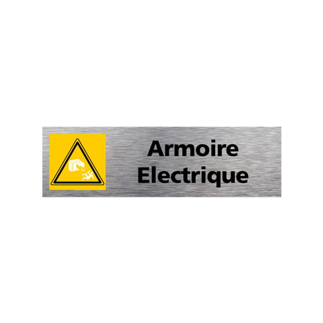 Signaletique Biz Plaque D Information Armoire Electrique