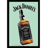 Sudtrading - Miroir rectangulaire sérigraphié Jack Daniel's