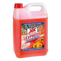 Jex - Nettoyant désinfectant Express pêche - Bidon de 5 litres
