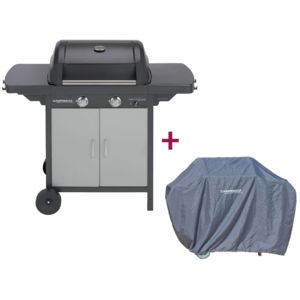 Campingaz barbecue gaz class 2 lx vario plus housse for Housse barbecue campingaz